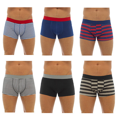 3 Pairs of Mens Tom Franks Hipster Trunks Boxer Shorts Underwear Briefs
