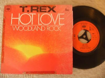 T.rex Single.hot Love.french Original Issue.cbs Label.1971.