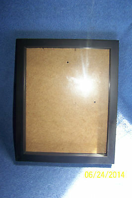 """Shadow Box Frame 10"""" x 8""""  Color: Black (For Use With Your Collectibles)"""