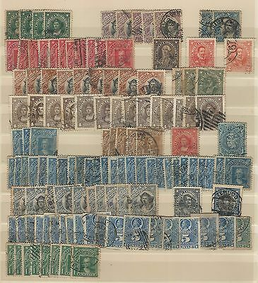 Chile: Small lot repeated used, all colon, ealies. CH14