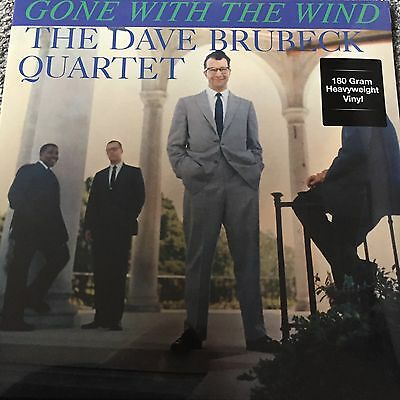 THE DAVE BRUBECK QUARTET 'Gone With The Wind' 2017 NEW LP VINYL - FACTORY SEALED