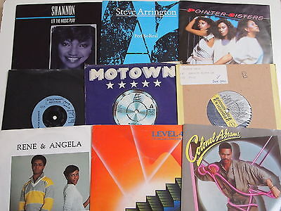"BOOGIE RECORD COLLECTION JOBLOT 7"" VINYL 20 SINGLES 80s Groove Soul Disco Funk"