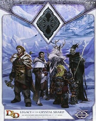 Dungeons & Dragons RPG: The Sundering II - Legacy of the Crystal Shard Campaign