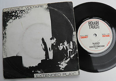 """Cabaret Voltaire-Extended Play-UK Rough Trade 7""""-Punk Avant Garde-1978-HEAR"""