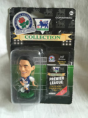 moc / new / sealed JEFF KENNA PL264 BLACKBURN CORINTHIAN FOOTBALL FIGURE