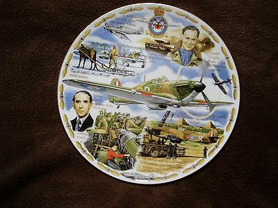 The Hurricane  LEGENDS OF THE AIR Royal Worcester Plate. Cert Ltd Ed'n of 2000