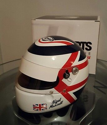 Nigel mansell f1 1/2 helmet williams 1992