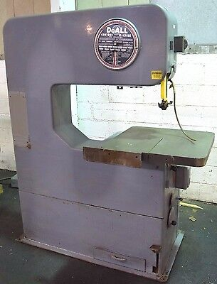 """Doall #30-S.f.p. 30"""" Vertical Band Saw"""