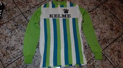 Vintage Maillot jersey cycling  wool KELME long sleeves 1981