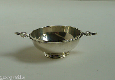Sterling Silver Celtic Quaich Sheffield 1922 CCP Charles Clement Pilling Ship