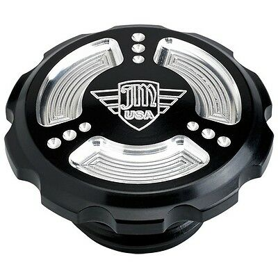 Joker Machine Harley Davidson Sportster 48 883 1200 Serrated Gas Cap JM USA BLK.