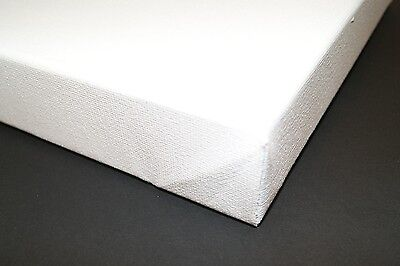 28 x 28 inch Chunky Blank Primed Cotton Canvases Box of 4 (38mm Deep)