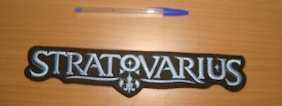 STRATOVARIUS - LARGE LOGO Embroidered BACK PATCH