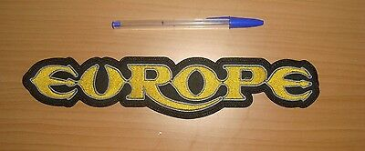 EUROPE - LARGE LOGO Embroidered BACK PATCH