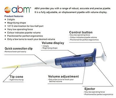 Single Channel Pipettes - CE and ISO certified