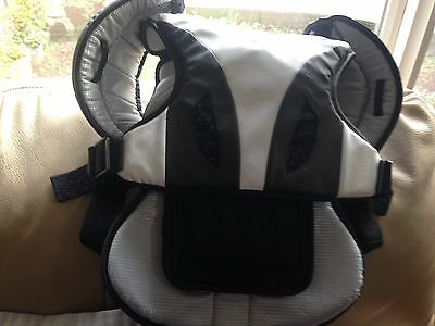 STX Lacrosse White & Black Shoulder Pads Cell 2 Liner Size Large