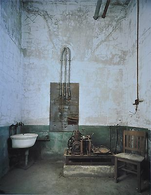 Stephen Wilkes Ellis Island #3 Ltd. Ed. Photo Art Print 27x41 Scrub Room Morgue