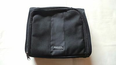 Philips Portable Dvd Player Black Carry Case