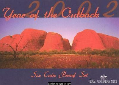 2002 Proof Coin Set, Year of the Outback
