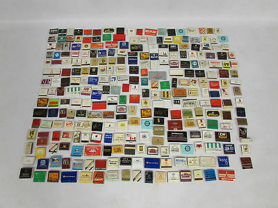 Job Lot Collection Of 274 Matchbooks / Match Boxes