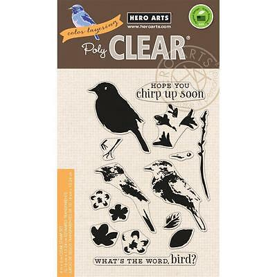 Hero Arts ~ Color Layering Bird and Branch ~ Clear Stamps ~ CL866 ~ NIP
