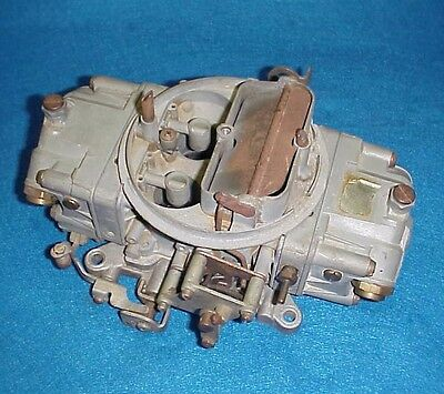 4777 Holley Double Pump Carb Carburetor 650 Cfm Chevy Ford Dodge Amc Olds Buick