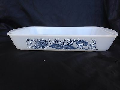 "Blue Danube Rectangular Oven Baker Baking Dish 12"" by 7 1/2"" by 2"""