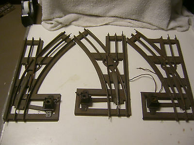 Standerd Gauge Pre War Lot Of 3 Manual Switches 2LH & 1RH