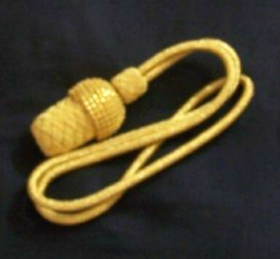 Civil War Union CSA Staff Officer Uniform General Saber Sword Parade Knot Tassel