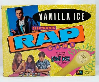 Rare Sealed New Vanilla Ice Electronic Rap Game Complete