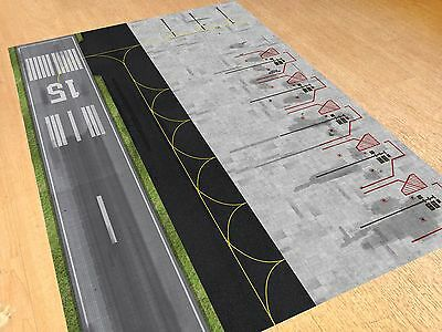 1/500 Model Airport Parking & Runway Section Foil/Apron