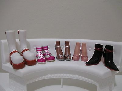 bratz doll girls shoes boots for 10 inch lot #12