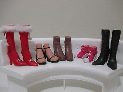 bratz doll girls shoes boots for 10 inch lot #6
