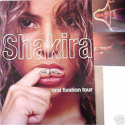 Shakira 2006 2007 Oral Fixation Tour Book New Official Nos Sale