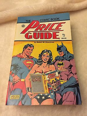 The Overstreet Comic Book Price Guide 13Th Edition-Soft Cover-