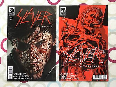 Slayer Repentless #1 | NM | Cover A & Powell Variant » 2 Comic Set | Dark Horse