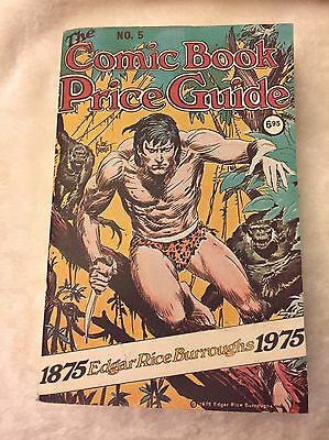 The Overstreet Comic Book Price Guide 5Th Edition-Soft Cover- Free Shipping!