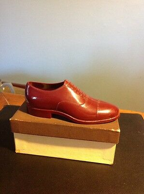 The Rand Shoe For Men Plastic Salesman's Sample With Box