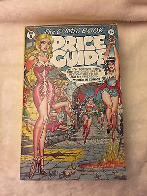 The Overstreet Comic Book Price Guide 8Th Edition-Soft Cover- Free Shipping!