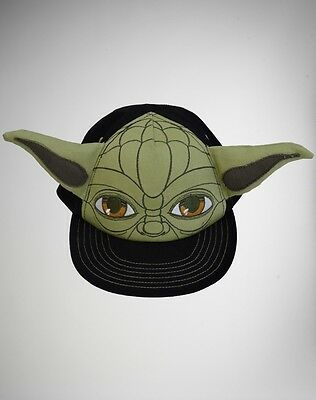 NWT RARE TODDLER YODA STAR WARS Flatbill Hat Cap HARD TO FIND with AWESOME EARS!