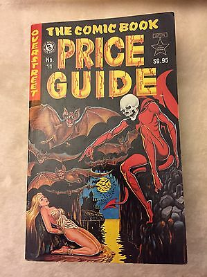 The Overstreet Comic Book Price Guide 11Th Edition-Soft Cover- Free Shipping!