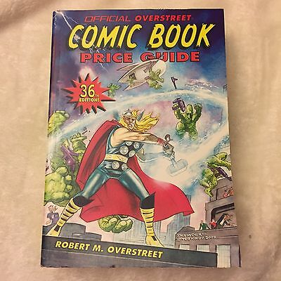 The Overstreet Comic Book Price Guide 36Th Edition-Soft Cover-