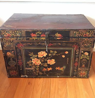 Antique Chinese Painted Chest