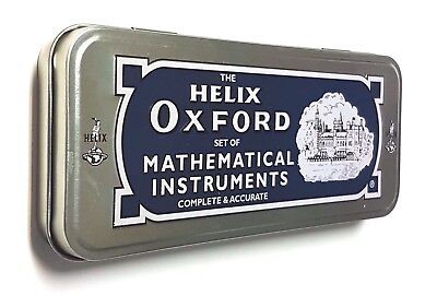 The Helix Oxford® Set of Mathematical Instruments 10 pieces