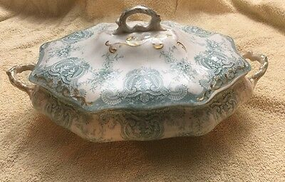 Pitcairns Porcelain Royale Tunstall England Covered Vegetable/soup Bowl Berwyn 7