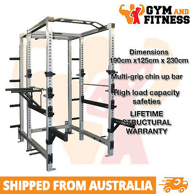 Brand New Commercial Use Heavy Duty Power Cage Rack With Weight Plate Storage