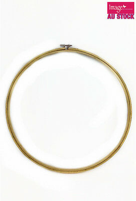 Wooden Embroidery Hoop 34.3cm Cross Stitch Machine Ring Bamboo Sewing