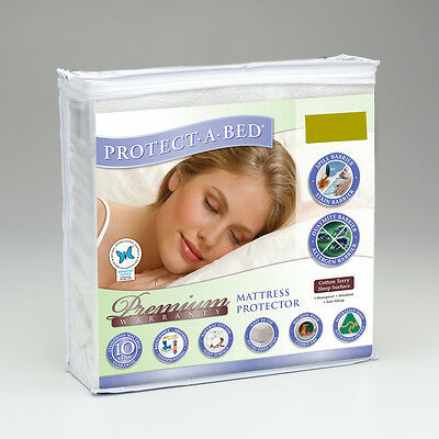 Protect A Bed Premium Mattress Protector - Single Size  *bnip*