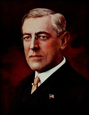 Historys Greatest War 1919 Woodrow Wilson US President Poster Print by Unknown x
