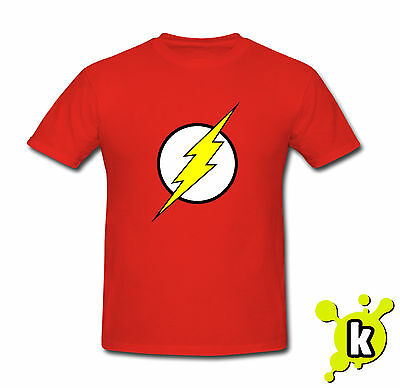 BAZINGA FLASH T SHIRT Sheldon copper big bang theory